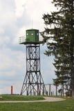 Vooruitzichttoren, de Lijn van Stalin, Wit-Rusland Stock Fotografie
