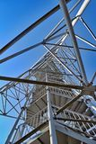 Vooruitzichttoren dichtbij Chlum dichtbij Hradec Kr royalty-vrije stock afbeeldingen