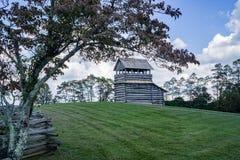 Vooruitzichttoren op Groundhog-Berg - Blauw Ridge Parkway, Virginia, de V.S. Royalty-vrije Stock Afbeeldingen