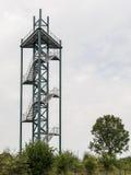 Vooruitzichttoren in Steenwijk Stock Afbeelding