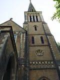 Voorvoorgevel Afghaanse Kerk, Mumbai, India Stock Foto