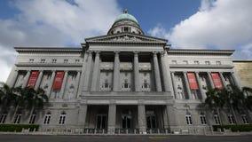 Voorvoorgevel van Nationaal Art Gallery stock videobeelden