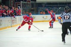 Voorwaarts Igor Grigorenko (27) Royalty-vrije Stock Fotografie