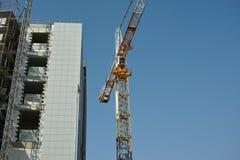 Voorwaartse activiteit op bouwwerf Stock Afbeelding