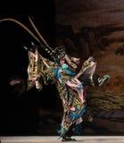 """Voorwaartse moedig Peking Opera"""" de Vrouwengeneraals van maart van Yang Familyâ €  Stock Foto's"""