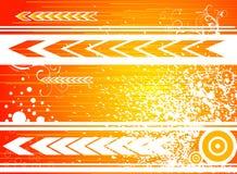 Voorwaartse sinaasappel Royalty-vrije Stock Afbeeldingen