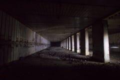 Voorwerp 221, verlaten sovjetbunker, reservecommandopost van de Vloot van de Zwarte Zee stock fotografie
