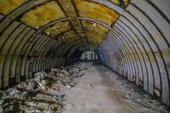 Voorwerp 221, verlaten sovjetbunker, reservecommandopost van de Vloot van de Zwarte Zee stock afbeeldingen