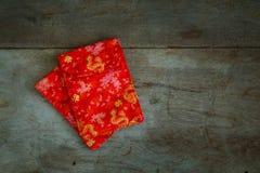 Voorwerpen op een Chinees Nieuwjaar worden voorbereid dat stock afbeeldingen
