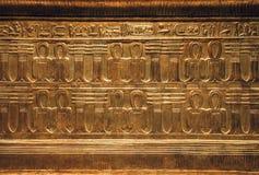 Voorwerpen van het graf van Tutankhamen stock afbeelding