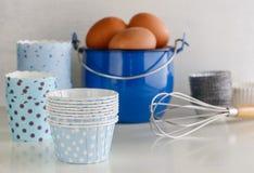 Voorwerpen voor eigengemaakt baksel Royalty-vrije Stock Foto's