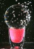 Voorwerpen in water Stock Foto