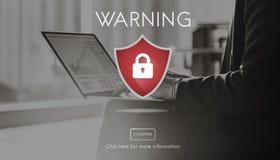 Voorzichtig zijn de veiligheids Waakzame Voorzichtigheid het Concept van het Aandachtsteken Royalty-vrije Stock Foto's