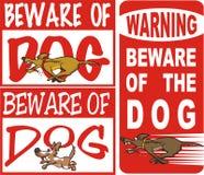 Voorzichtig zijn van hond Royalty-vrije Stock Foto's