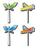 Voorzie van wegwijzers vector illustratie
