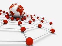 Voorzien van een netwerk Royalty-vrije Stock Afbeeldingen
