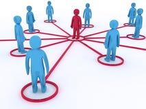 Voorzien van een netwerk Stock Fotografie