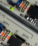 Voorzien van een netwerkapparaten Stock Foto