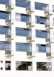 Voorzijde met balkons Royalty-vrije Stock Afbeelding