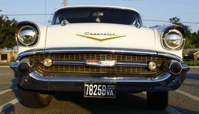 Voorzijde van 57 Chevy Royalty-vrije Stock Afbeelding