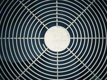 Voorzijde van airconditioning abstracte achtergrond stock foto