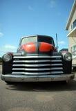 Voorzijde van antieke vrachtwagen Royalty-vrije Stock Foto