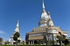 Voorzijde van Boedha in Thailand Royalty-vrije Stock Foto