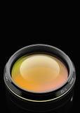 Voorzijde van de cameralens vector illustratie