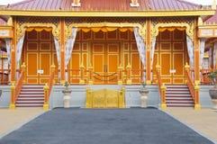 Voorzijde van de koninklijke crematieplaats Stock Foto's