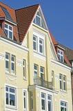 Voorzijde van een gebouw van de Jugendstil Royalty-vrije Stock Foto's