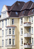 Voorzijde van een gebouw van de Jugendstil Royalty-vrije Stock Fotografie