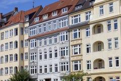 Voorzijde van een gebouw van de Jugendstil Royalty-vrije Stock Afbeeldingen