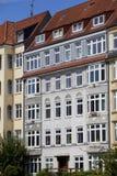 Voorzijde van een gebouw van de Jugendstil Stock Afbeelding