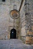 Voorzijde van een Kerk Stock Afbeelding