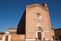 Italiaanse kerk Stock Fotografie