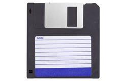 Voorzijde van een oude magnetische disket stock foto's