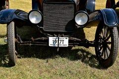 Voorzijde van een oude 1917 Modelt ford royalty-vrije stock foto