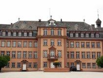 Voorzijde van een Schloss Berleburg duitsland Stock Foto's