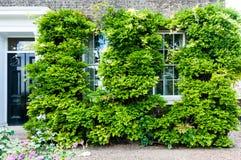 Voorzijde van Engels huis Stock Afbeelding