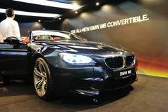 Voorzijde van gloednieuw Convertibel BMW M6 Royalty-vrije Stock Afbeelding