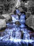 Voorzijde van grandioze waterval Royalty-vrije Stock Afbeeldingen