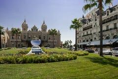 Casino en Hotel DE Parijs in Monte Carlo Royalty-vrije Stock Afbeeldingen