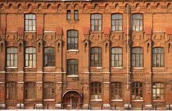 Voorzijde van het oude gebouw Royalty-vrije Stock Fotografie