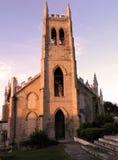 Voorzijde van kerk Stock Foto's