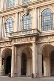 Voorzijde van Paleis Barberini in Rome Stock Foto