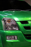 Voorzijde van pick-up Stock Foto's