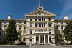 Voorzijde van Victoria University Law School in Wellington, Nieuwe Zeala Royalty-vrije Stock Fotografie