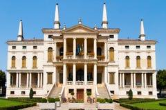 Voorzijde van Villa Barberigo Stock Fotografie