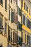 Voorzijden in Florence royalty-vrije stock foto's