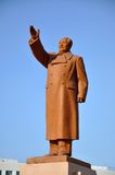 Voorzitter Mao Statue, Shenyang, China royalty-vrije stock fotografie